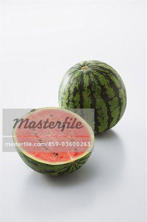 Half Sliced Watermelon