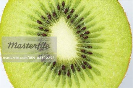 Slice of Nutritious Kiwi Fruit