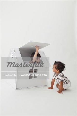 Boys In A Little House