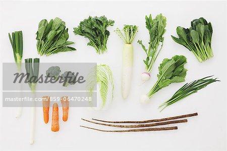 Mixed vegetables arrangement