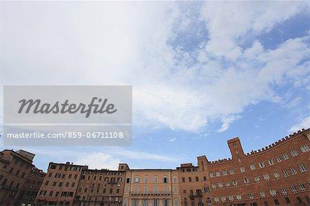 Piazza del Campo in Siena, Italy