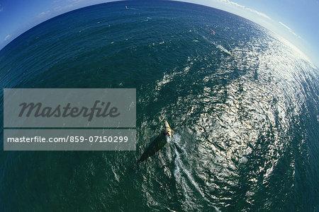 Windsurfing, Oahu, Hawaii