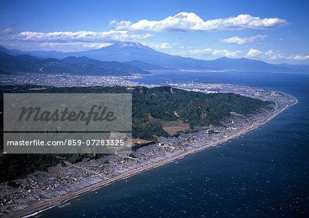 Mt. Fuji From Nihondaira, Shizuoka, Japan