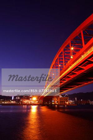Kobe Bridge, Hyogo, Japan