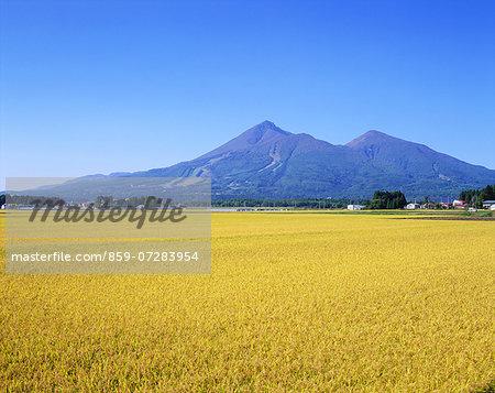 Mt. Bandai, Fukushima, Japan