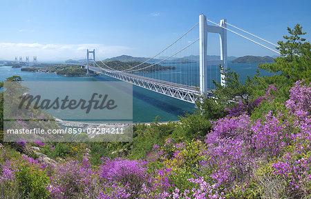 Great Seto Bridge, Okayama, Japan
