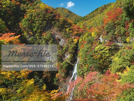 Kanba Falls, Okayama, Japan