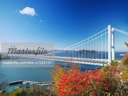 Great Seto Bridge, Okyama, Japan