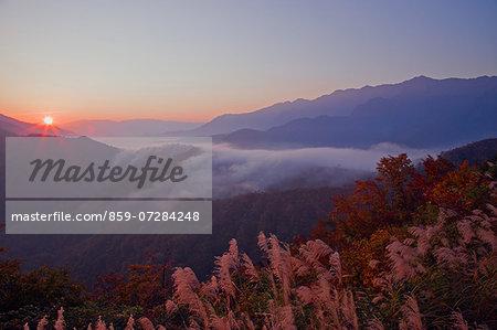 Sunrise, Niigata, Japan