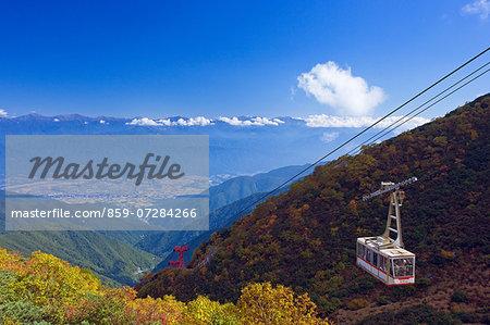 Komagatake Ropeway, Nagano, Japan