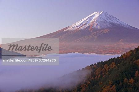 Mt. Fuji in Autumn, Yamanashi, Japan