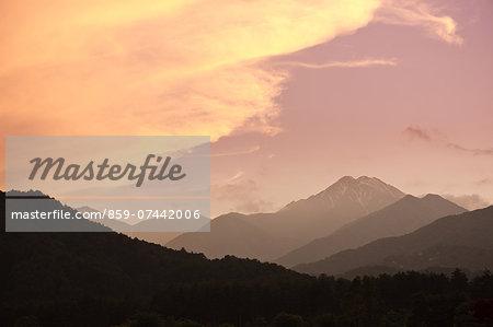 Northern Alps, Japan