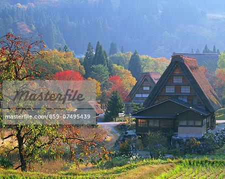 Shirakawa-go Village, Gifu