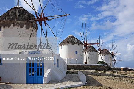Greece, Cyclades Islands, Mykonos Island, Mykonos