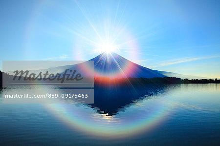 Mount Fuji from Shizuoka Prefecture, Japan