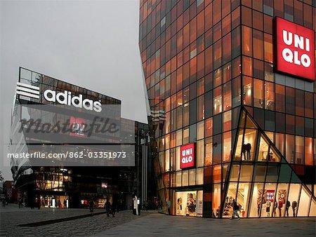 China,Beijing  Sanlitun Village new shopping district in Beijing