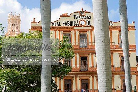 Cuba,Havana. Partagas Cigar Factory (Fabrica de Tobacos Partagas),Havana