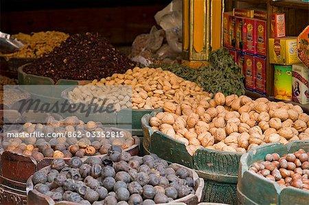 Spices for sale in the Souq-al-Atterine near Khan el-Khalili,Cairo,Egypt
