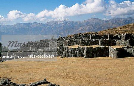 Massive walls of Sacsayhuaman