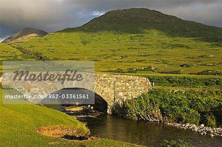 An old bridge on the coastal road around Loch na Keal
