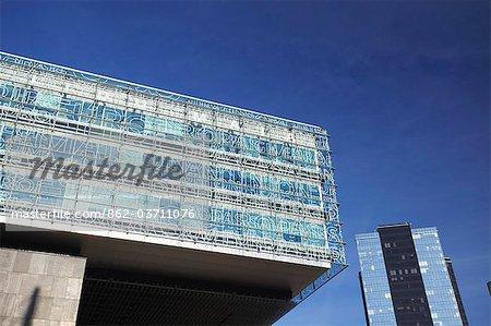 Estonia, Tallinn, Modern Architecture In Business District