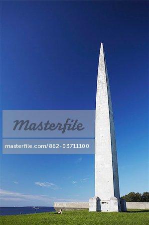 Estonia, Tallinn, Pirita, Obelisk At Soviet War Memorial