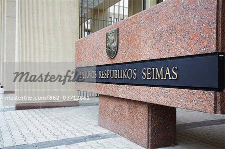 Lithuania, Vilnius, Seimas (Parliament) Building