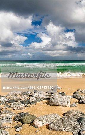 Dhail Mor beach on the Isle of Lewis, Hebrides, Scotland, UK