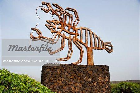 Jameos del Agua, architecture and nature by the artist Cesar Manrique. Lanzarote Island.