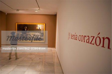Museum of art  in Malaga, Andalusia, Spain