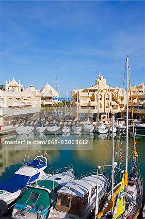 Marina of Torremolinos, Costa del Sol, Andalusia, Spain