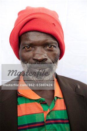 Burundi. A male farmer poses for his portrait in rural Burundi.