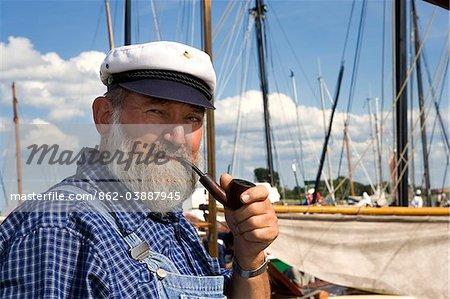 Seaman, Wustrow, Mecklenburg-Western Pomerania, Germany