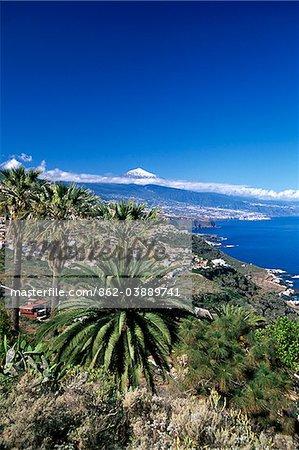 Teide, Orotava Valley, Tenerife, Canary Islands, Spain