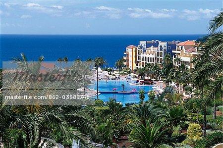 Resort Bahia Principe in Adeje, Tenerife, Canary Islands, Spain