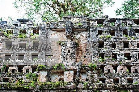 North America, Mexico, Chiapas state, Yaxchilan, Mayan ruins,