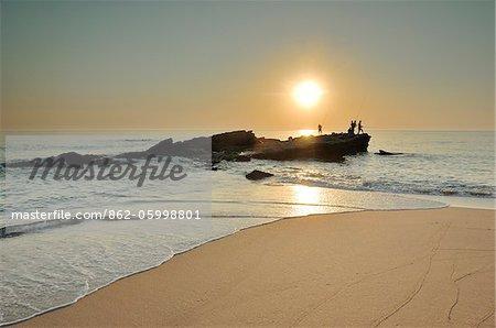 Praia dos Frades beach. Portugal