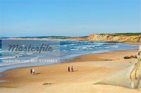 Baleal beach. Peniche, Portugal