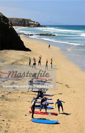 Playa de la Pared. Fuerteventura, Canary Islands