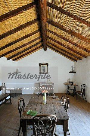 Traditional house in La Alcogida, Tefia. Fuerteventura, Canary islands