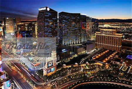 U.S.A., Nevada, Las Vegas, City Center Las Vegas