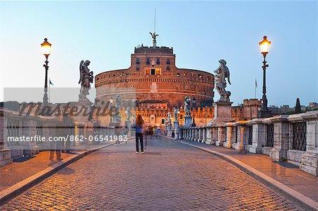 Mausoleum of Hadrian, Rome, Lazio, Italy, Europe