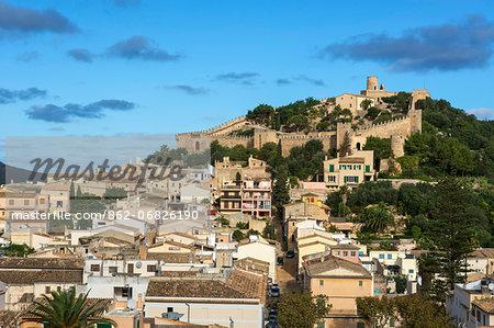 Castle of Capdepera, Majorca, Balearics, Spain