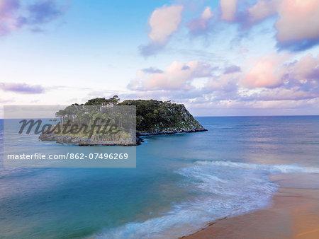 Spain, Basque, Lekeitio, San Nicolas island