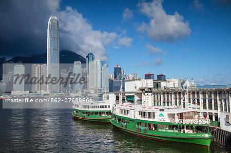 Star Ferry and Hong Kong Island skyline, Hong Kong