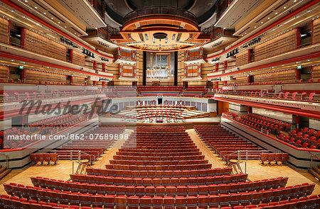 Europe, United Kingdom, England, West Midlands, Birmingham, Birmingham Symphony Hall