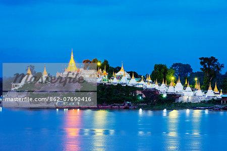 South East Asia, Myanmar, Mandalay, Shwe Kyet Yet temple