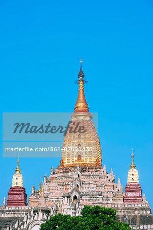 South East Asia, Myanmar, Bagan, Ananda Phato temple
