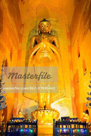 South East Asia, Myanmar, Bagan, Ananda temple