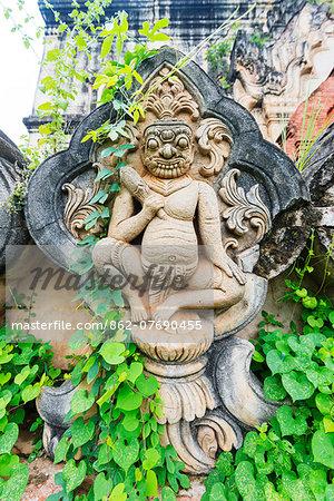 South East Asia, Myanmar, Mandalay, Inwa, abandoned temple